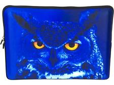 """Waterproof Laptop Netbook Sleeve Pouch Bag for 15""""-15.6"""" HP Dell MacBook Owl"""