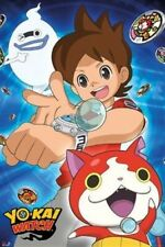 YO-KAI WATCH ~ WHISPER AND POLYGON!  ~ 24x36 Video Game Poster ~ NEW/ROLLED!