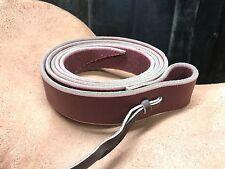 "Latigo Leather Cinch Tie Strap 6' x 1-3/4"" - New! - Upgrade Your Saddle!"
