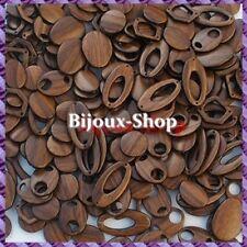 1 kg de Perles résine imitation bois (Tarif de liquidation)
