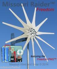 Wind turbine generator kit Missouri Raider 12 V 1700 Watt 11 Blade Wind Turbine