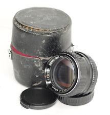 Pentax M Asahi  85mm F2 Manual Focus Lens PK Mount (5751BL)