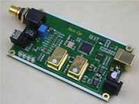 XMOS XU208 Asynchronous USB coaxial fiber output IIS+0.1pm Warming crystal