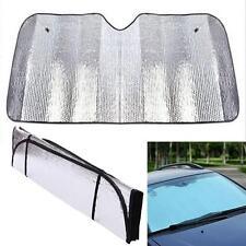 Front Car Sun Shade Blind Protector Window Sunscreen Visor Cover Mesh Shield SL!