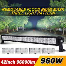 42inch 960W PHILIPS LED Work Light Bar DRL Spot Flood Offroad SUV 4x4WD UTE 44""