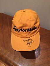 Autographed Vaughn Taylor TaylorMade Golf Cap Hat Adjustable