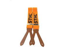 Genuine STIHL Chainsaw Trouser Braces Orange 120cm Buttons 0000 884 1511