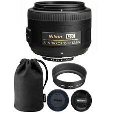 Nikon AF-S DX NIKKOR 35mm f/1.8G Lens for Nikon Digital SLR Cameras
