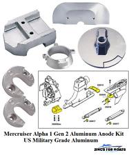 Mercruiser Merc Alpha One Lower Trim Tab Fin Military Grade Aluminum Anode 31640