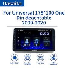 Dasaita 1 Din Autoradio Carplay per Universale Autoradio Carplay DSP Android 10