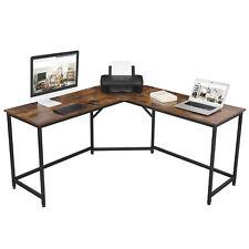 L-förmiger Computertisch, Eckschreibtisch, Bürotisch, Arbeitstisch LWD73X