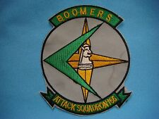 "VIETNAM WAR  PATCH US NAVY ATTACK SQUADRON VA-165 ""BOOMERS"""