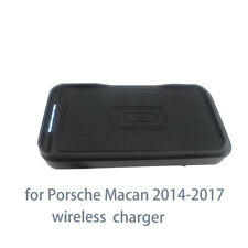 Qi 10W 7.5W iphone Car Mount Wireless Charger For Porsche Macan 2014-2017