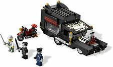 9464 LEGO Vampyre Hearse w/ 3 minifigs - New - Glow in the Dark Stickers