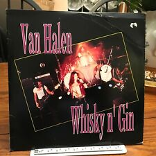 VAN HALEN 2LP WHISKY N GIN  Live 77, outtakes, etc. NM/VG