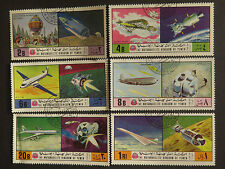 Space Used Middle Eastern Stamps