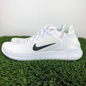 Nike Free RN 2018 'White Black' Men's Running Shoe 942836-100 Pick Size