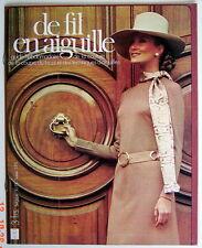 ANCIENNE REVUE DU 1er TRIMESTRE DE 1973, DE FIL EN AIGUILLE, No.51