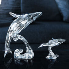 Swarovski Annual Edition Whale Paikea  2012 + young whale New