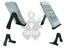 Black Foldable Display Stand Slim Holder iPhone galaxy S8 S7 S6 5 4S  S5 S6 6 X2