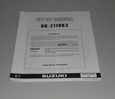 Montageanleitung Suzuki DR- Z 110 K3 Stand 07/2002