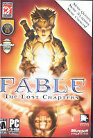 Fable the Lost Chapters Computer Game, PC Software, Microsoft Game Studios