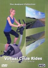 NORTH OF FRANCE VIRTUAL CYCLE RIDES STATIONARY BIKE TREADMILL WORKOUT DVD NEW