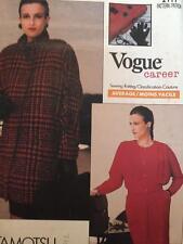 Vogue Sewing Pattern 2111 Misses Jacket Blouse Skirt Size 12-16 Uncut Tamotsu