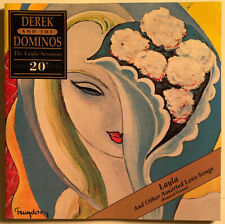 DEREK AND THE DOMINOS LAYLA SESSIONS CD USA 20TH ANNIVERSARY 1990 CLUB PRESSING