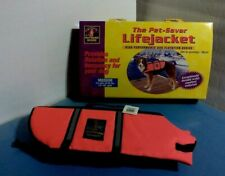 "Outward  Hound The Pet Saver Life Jacket Neon Orange Medium 22""-29"" Girth NWT"