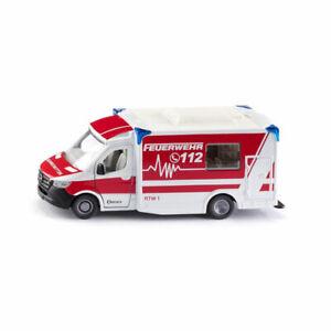 "SIKU 2115 Mercedes Sprinter "" Miesen "" Type C Ambulance Maßstab 1:50 Neuf !°"