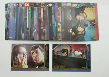 1999 Star Trek Original Series TOS Character Log Card Set (48) C111- C158