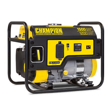 100403R- 1200/1500w Refurbished Champion Generator, manual start