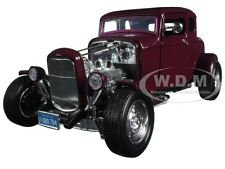 1932 FORD COUPE BURGUNDY TIMELESS CLASSICS 1:18 DIECAST CAR BY MOTORMAX 73172