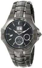 Seiko Men's SNP007 Analog Display Japanese Quartz Silver Watch