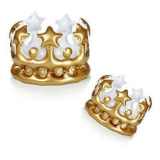 1 pc Parties Balloons Inflatable Crown Queen Toys Birthday Party Hat Childrens