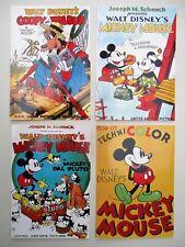 4 cartes postales / postcards MICKEY MOUSE the Walt Disney company