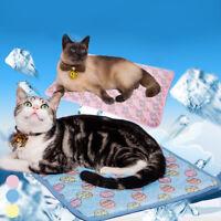 S/M/L Hund Kühlmatte Sommer Katze Haustier Kühlkissen Kühldecke Kühlunterlage/