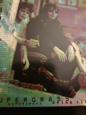 SUPERGRASS | DOING TIME | LIVE 1CD 90S Glastonbury , KTS original  vgc