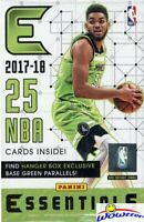 2017/18 Panini Essentials Basketball Factory Sealed HANGER Box-GREEN PARALLELS
