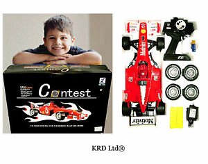 Rechargeable Remote Control FORMULA RACING CAR Christmas Stocking Filler Gift UK