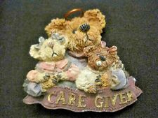 Boyds Bear brooch ~ Care Giver bear with Cubs
