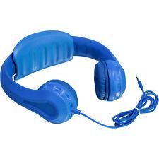 Aluratek Wired Foam Volume-Limiting Headphones for Kids | Blue