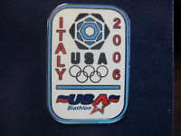 2006 Olympic Team USA Biathlon Logo Pin