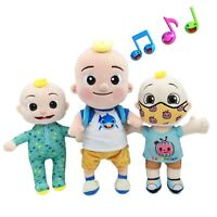 BIG JJ Music Plush Doll Cocomelon Pillow Soft Toys for Baby Plush JJ Doll