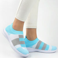 Sneakers Womens Walking Socks Shoes Breathable Ladies Casual Trianers Plus Size