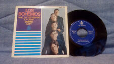 LOS BOHEMIOS - SPANISH BEAT GROUP - EP - LABEL HISPAVOX HH 17-373 - 1966 - EX