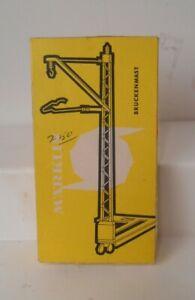 Marklin HO Catenary Mast For Metal Bridge 7011 In Original Box
