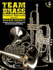 Team Brass: Trombone/Euphonium (Bass Clef) Trombone Book, CD Instrumental Tutor