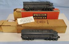 LIONEL POSTWAR 1950 2344 NEW YORK CENTRAL AA W ORIG BOXES..........TK